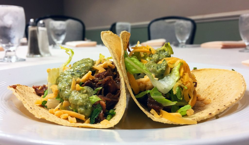Braised Veal Cheek Tacos