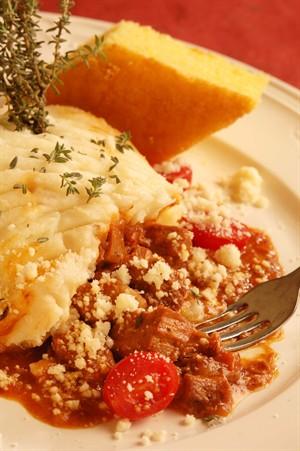 Braised Veal Shepherd's Pie with Sartori Parmesan Mashed Potatoes