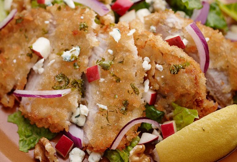 Crispy Veal and Walnut Salad