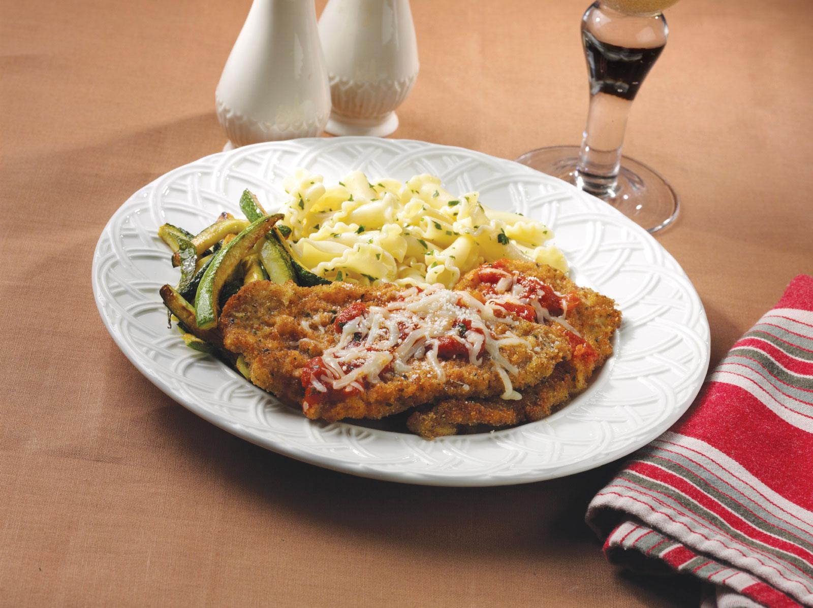 Fast Veal Parmigiana