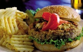 Grilled Veal & Bacon Burger