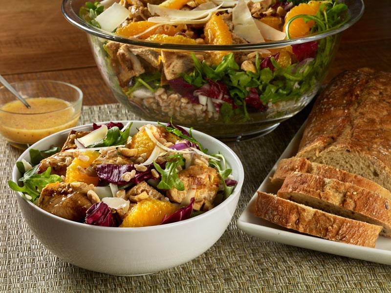 Mediterranean Grilled Veal Salad