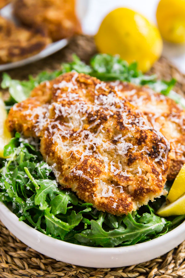 Veal Scallopini Milanese Style