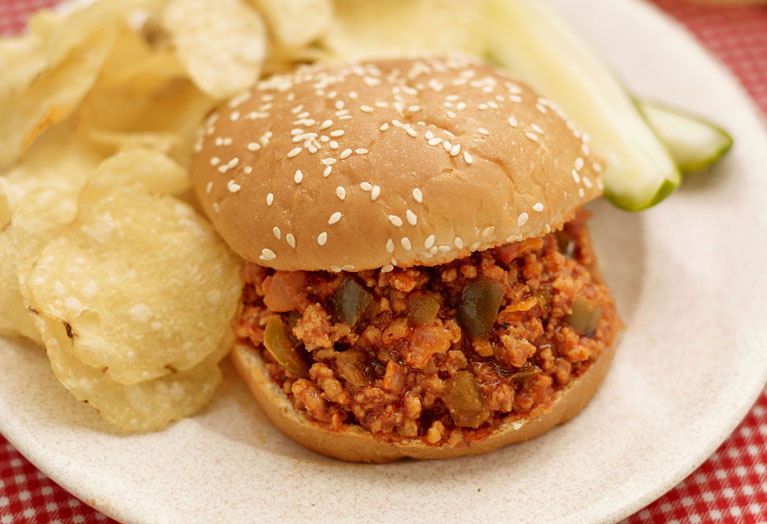 Veal Sloppy Joe