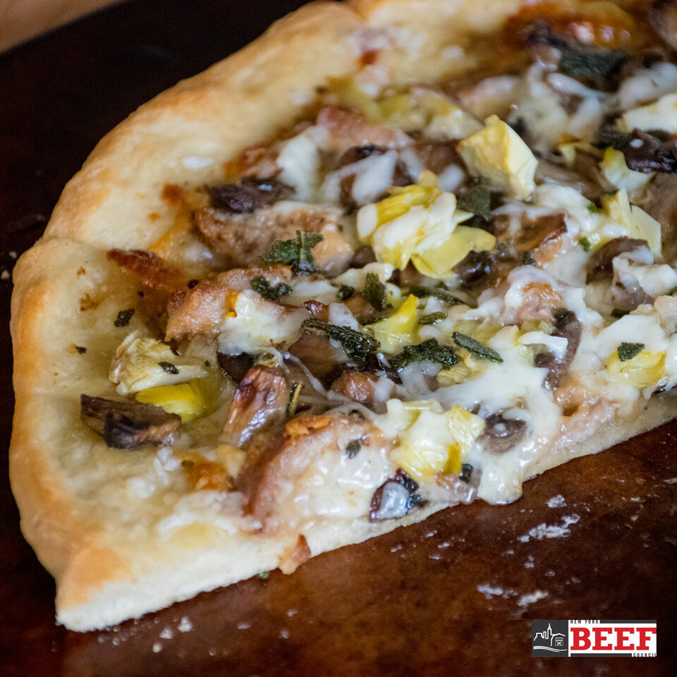 Veal Marsala Pizza