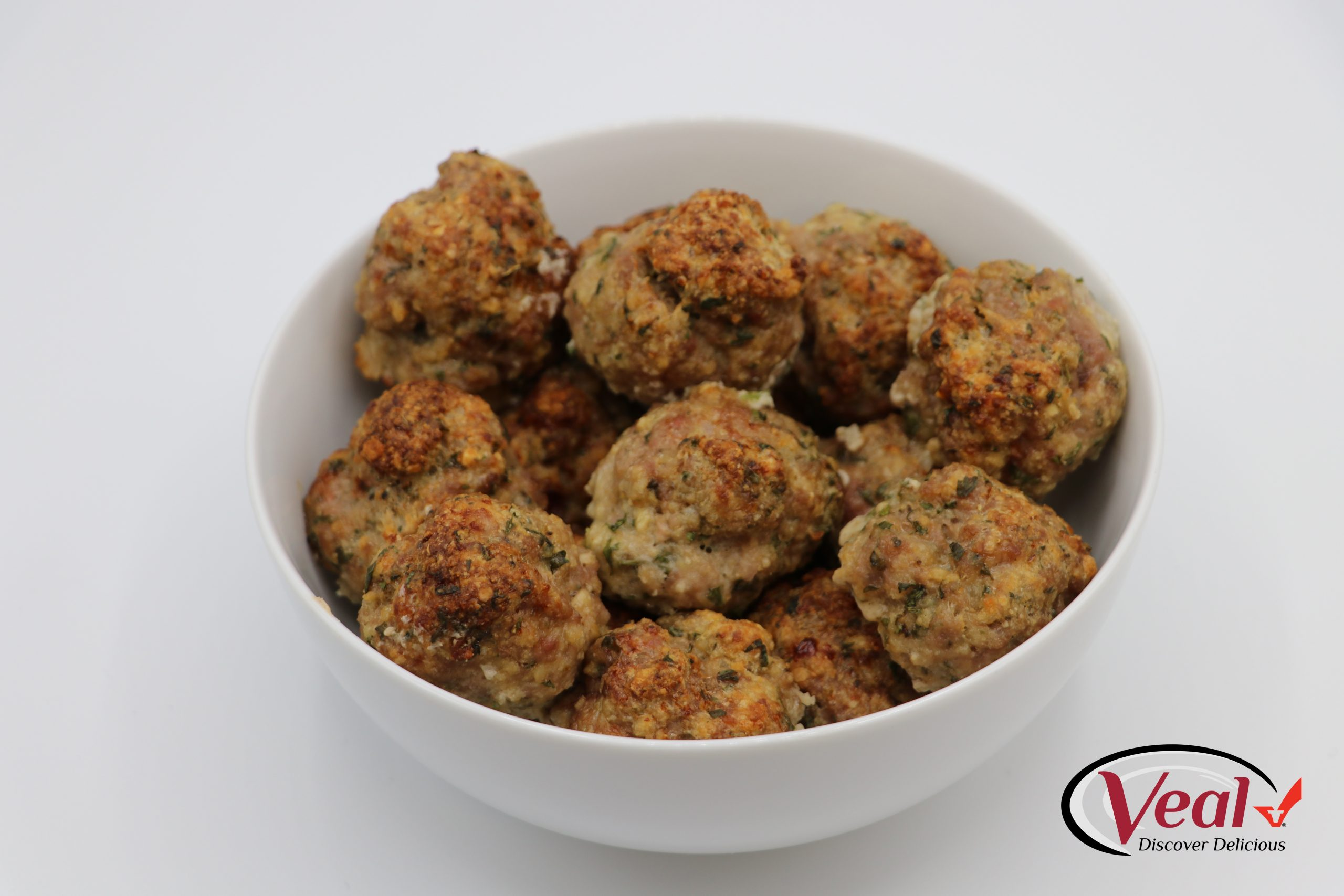 Oven Baked Veal Meatballs