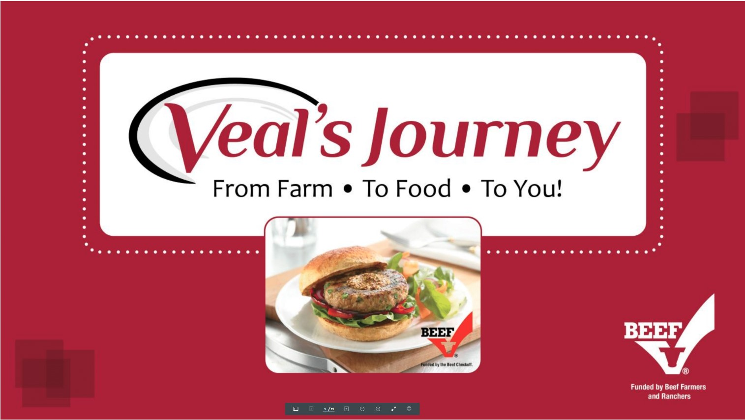 Veal's Journey PowerPoint