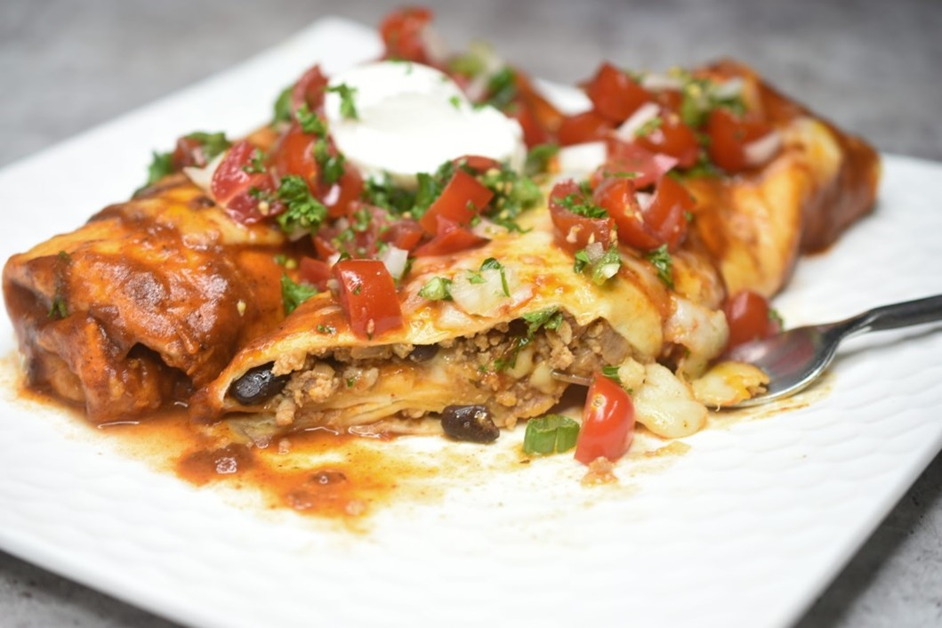 Ground Meat Enchilada Recipe