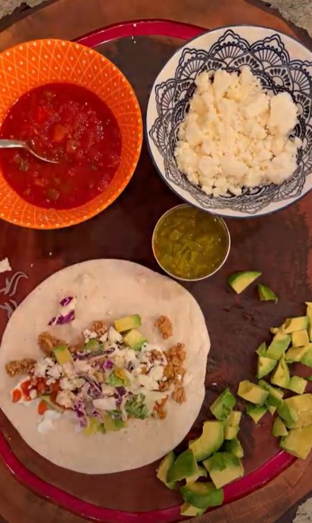 Simple Veal Tacos