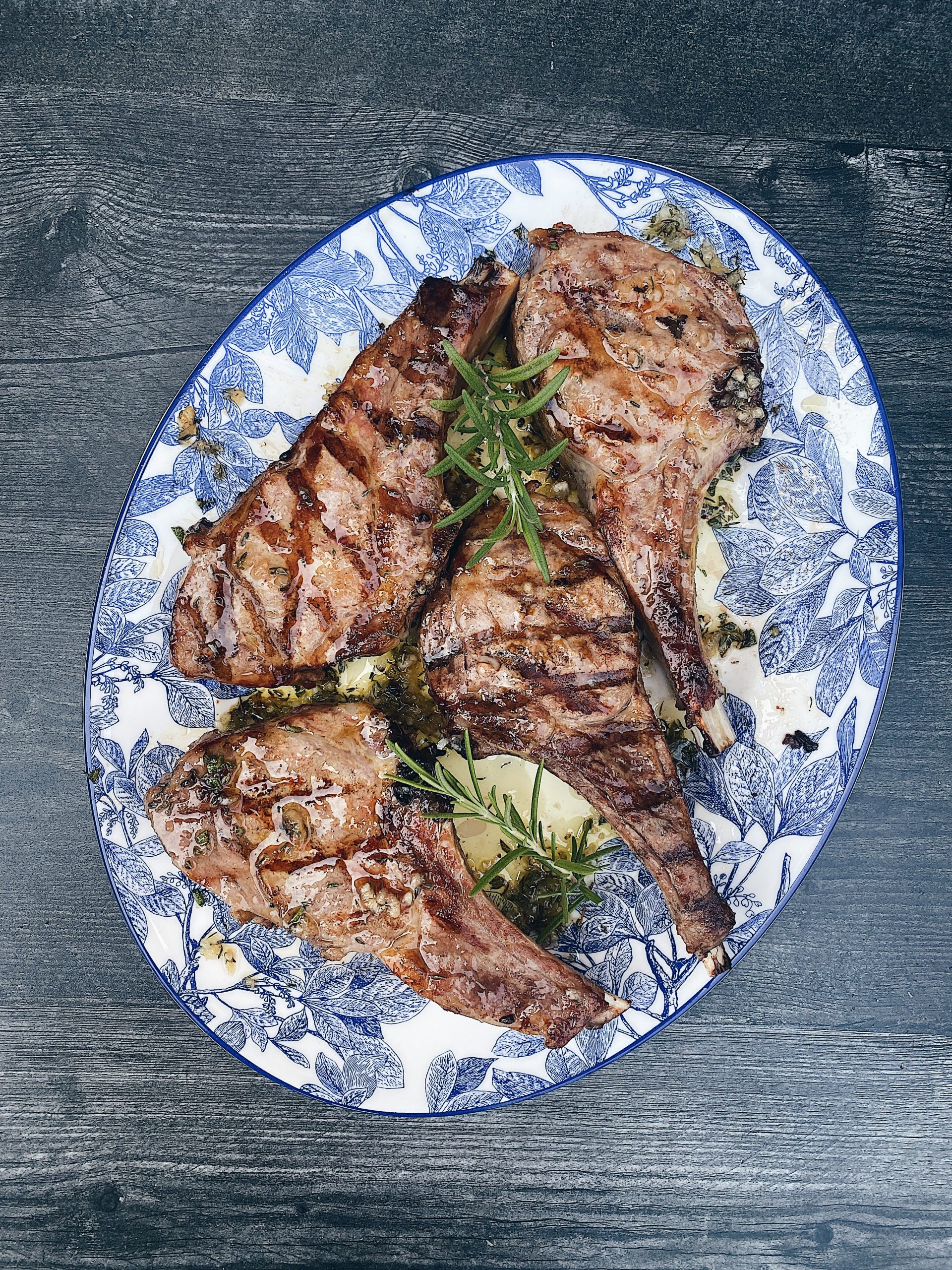 Tuscan Style Veal Chops